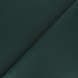 Matte elastane Gabardine fabric - pine green Vibrance x 10cm