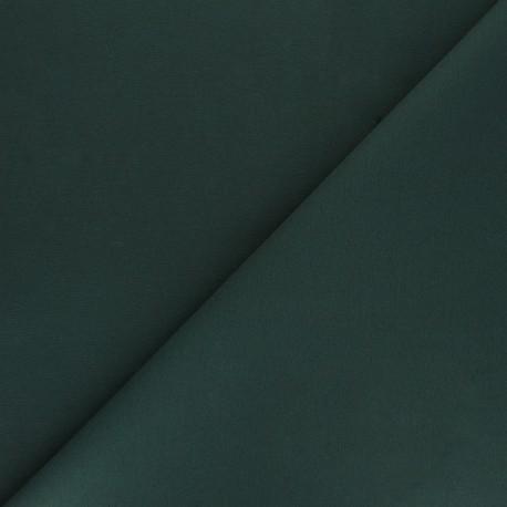 Tissu Gabardine élasthanne mat Vibrance - vert sapin x 10cm