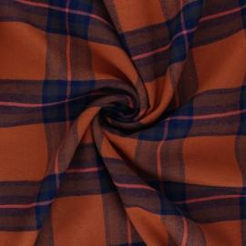 Tissu coton viscose Felicia - citrouille x 10cm