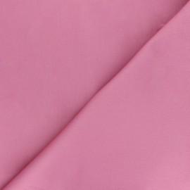 Matte elastane Gabardine fabric - pink Vibrance x 10cm