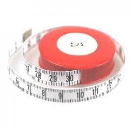 "Automatic Retractable measuring tape ""Rollfix"" - white"