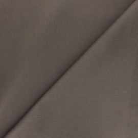Tissu Gabardine élasthanne mat Vibrance - taupe x 10cm