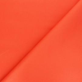 Tissu Gabardine élasthanne mat Vibrance - orange x 10cm