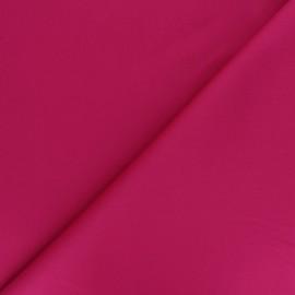 Tissu Gabardine élasthanne mat Vibrance - fuchsia x 10cm
