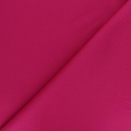 Matte elastane Gabardine fabric - fuchsia Vibrance x 10cm