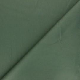 Matte elastane Gabardine fabric - green Vibrance x 10cm