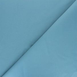 Matte elastane Gabardine fabric - sky blue Vibrance x 10cm
