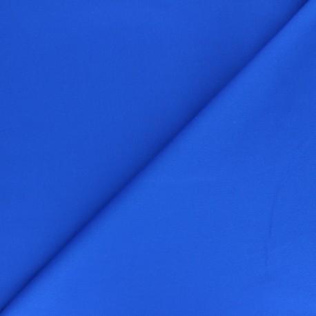Matte elastane Gabardine fabric - electric blue Vibrance x 10cm
