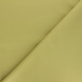 Tissu Gabardine élasthanne mat Vibrance - avocat x 10cm