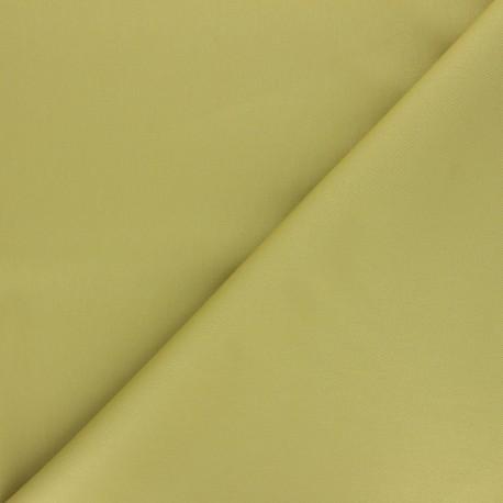Matte elastane Gabardine fabric - avocado green Vibrance x 10cm