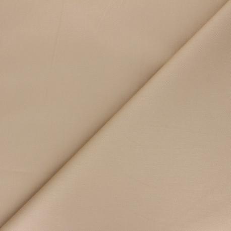 Matte elastane Gabardine fabric - anthracite grey Vibrance x 10cm