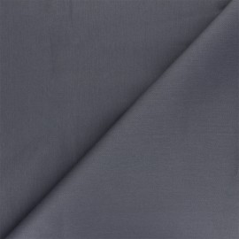 Tissu Gabardine élasthanne mat Vibrance - anthracite x 10cm
