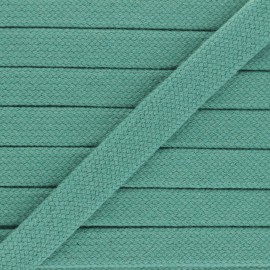 Cordon tubulaire 15 mm Thalia - vert céladon x 1m