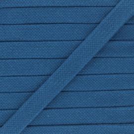 Cordon tubulaire 15 mm Thalia - bleu x 1m