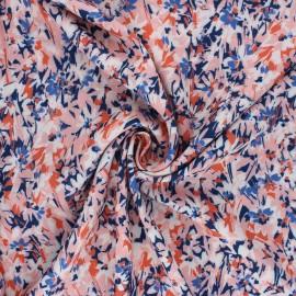 Tissu viscose Atelier Jupe Ilona -  rose x 10cm
