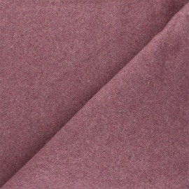 Tissu Bio Polaire Coton - vieux rose x 10cm