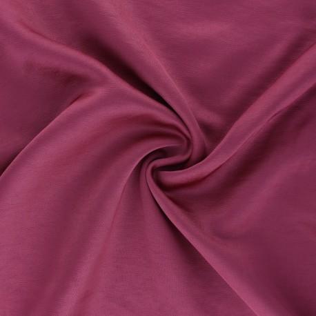 Tissu viscose irisée Madeline - figue x 10cm