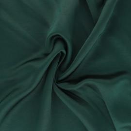Tissu viscose irisée Madeline - vert sapin x 10cm