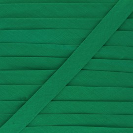 20 mm Poly Cotton Bias binding - imperial green