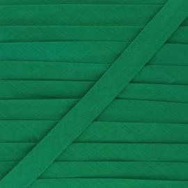 Biais tout textile 20 mm - vert impérial x 1m