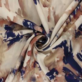 Tissu viscose Atelier Jupe Jodie - sable x 10cm