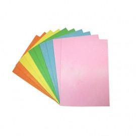Glittery EVA foam sheets - pastel