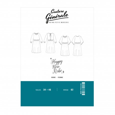 Couture Générale Dress Sewing Pattern - Happy New Robe