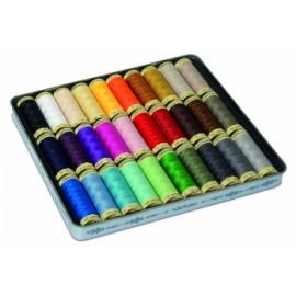 Set de 30 Bobines de Fil pour tout coudre Gütermann - Multicolore