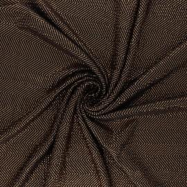 Waffle satin fabric - copper On the floor x 10cm