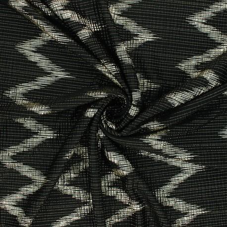 Tissu satin gaufré Freed from desire - doré x 10cm