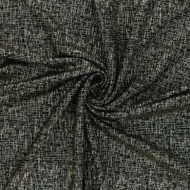 Tissu satin gaufré La isla bonita - doré x 10cm