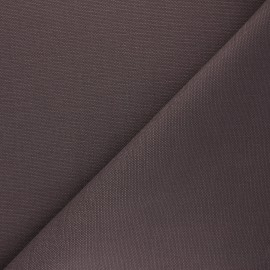 Reversible braided cotton fabric (280 cm) - cocoa x 10cm