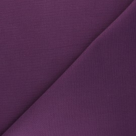 Reversible braided cotton fabric (280 cm) - purple x 10cm