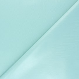 Plain PUL fabric - opaline green x 10cm