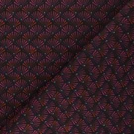 Jacquard fabric - fuchsia pink Arcadia x 10cm