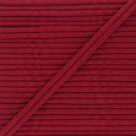 11mm Double Piping - red Henriette x 1m