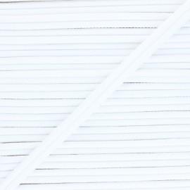 Double Passepoil 11mm Henriette - blanc x 1m