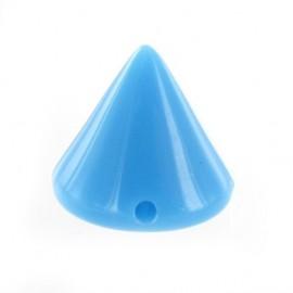 Cône à coudre bleu