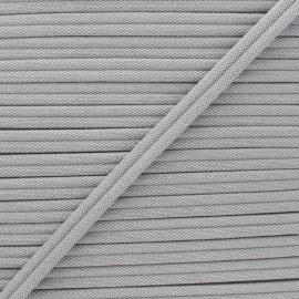 Double Passepoil 11mm Henriette - gris clair x 1m