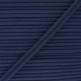 11mm Double Piping - navy blue Henriette x 1m