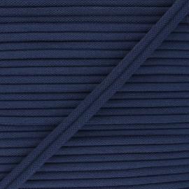 Double Passepoil 11mm Henriette - bleu marine x 1m