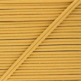 Double Passepoil 11mm Henriette - jaune moutarde x 1m