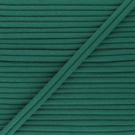 11mm Double Piping - forest green Henriette x 1m
