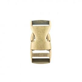 25 mm Side Release Buckle - brass Basic