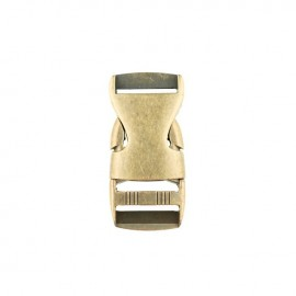 Boucle banane métal Basic 25 mm - Laiton