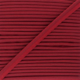 14mm Woven Piping - red Antoine x 1m