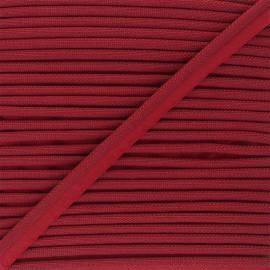 Passepoil tissé 14mm Antoine - rouge x 1m
