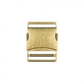 40 mm Side Release Buckle - brass Classic