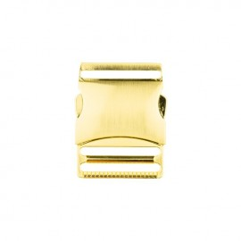 40 mm Side Release Buckle - gold Classic