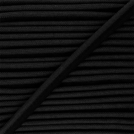 14mm Woven Piping - black Antoine x 1m